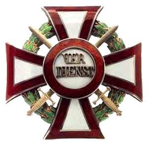 Military Merit Cross First Class with war decoration first class and swords first class (December, 13 1916-1918)