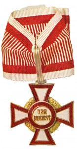 Military Merit Cross Second Class with war decoration third class (September 23, 1914-1918) (Issued only once)