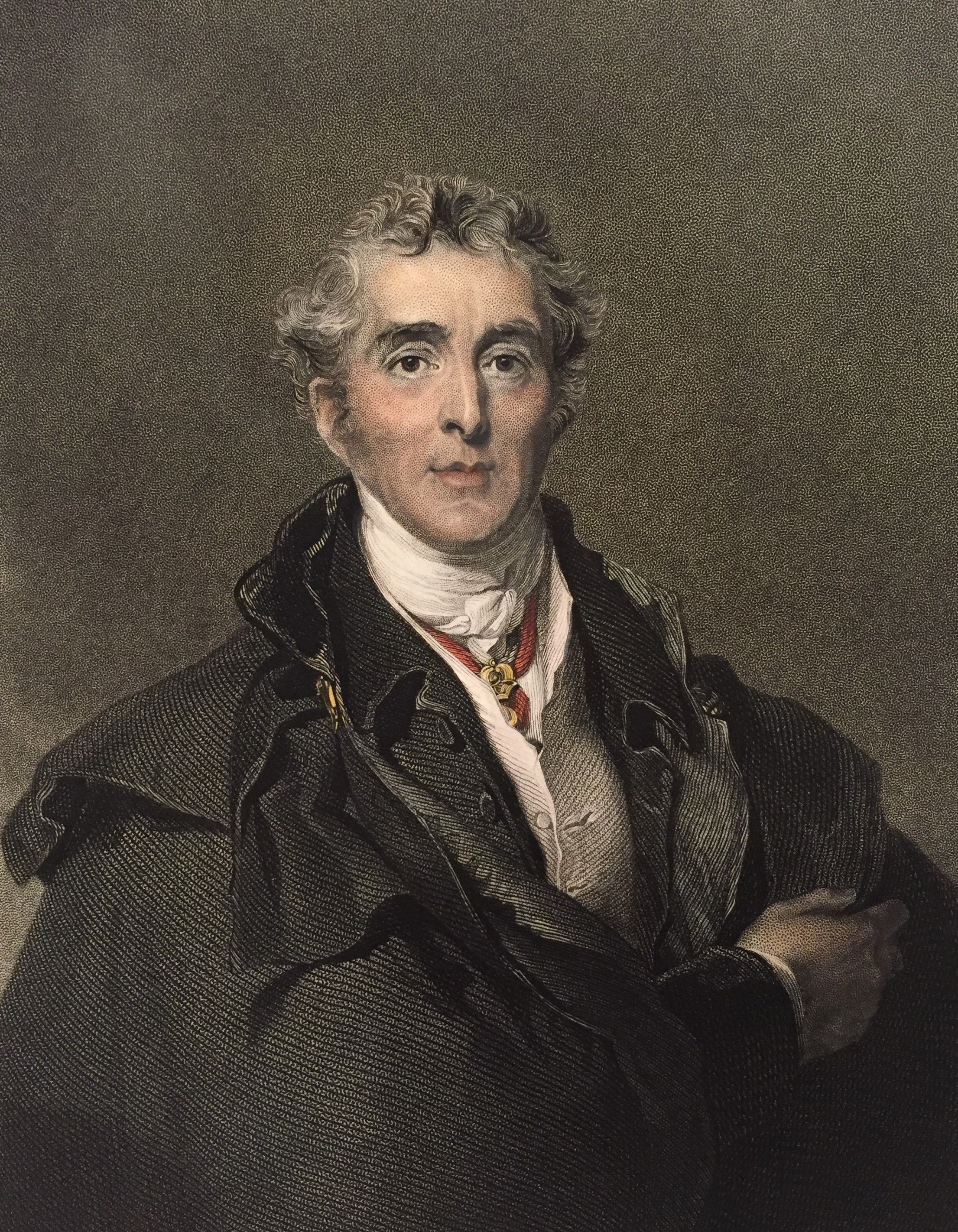 Figure 1 – The Duke of Wellington, an opponent of issuing the Military General Service Medal. Image from author's archive.