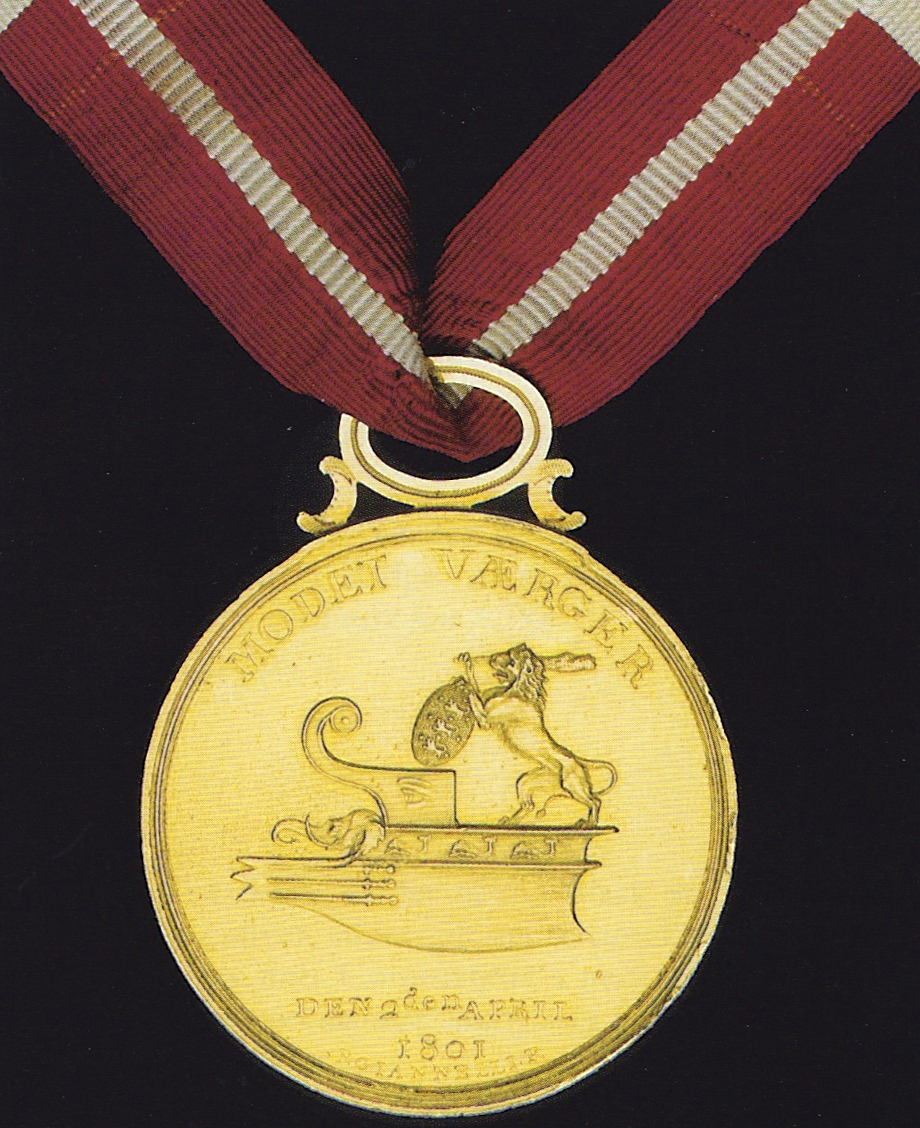 Gold Medal with Right to Wear