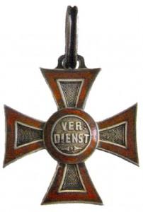 Figure 3: Military Merit Cross, Obverse