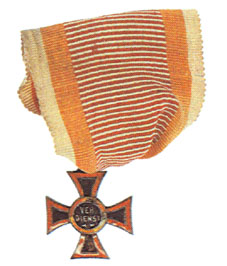 Figure 8: 1849 Military Merit Cross Miniature