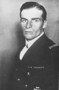 Figure 22: Fregattenleutnant Gottfried Freiherr von Banfield