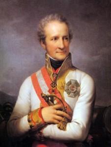 Figure 15: Feldmarschall Johann Joseph Furst Liechtenstein