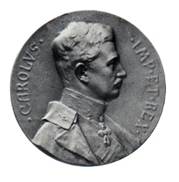 Figure 11: Military Maria Theresia Order Folgaria Commemoration Medal, Obverse, White metal, Image from the authors archive