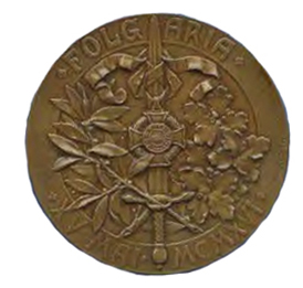 Figure 14: Military Maria Theresia Order Folgaria Commemoration Medal, Reverse, Bronze Medal, Image from the authors archive