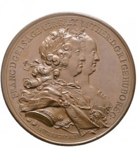 Figure 3: Military Maria Theresia Order Bronze Foundation Medal, obverse, Picture from the authors photo archive