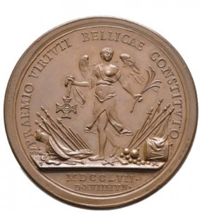 Military Maria Theresia Order Bronze Foundation Medal, reverse, Picture from the authors photo archive