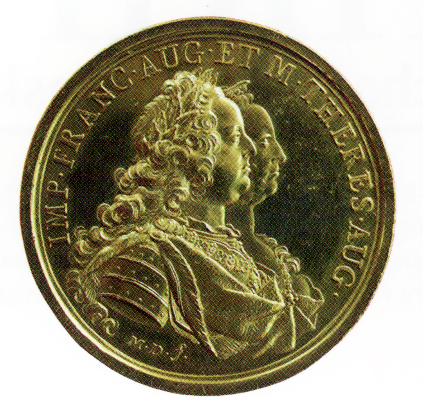 1.Military Maria Theresia Order Foundation Medal, obverse, Picture from the authors photo archive