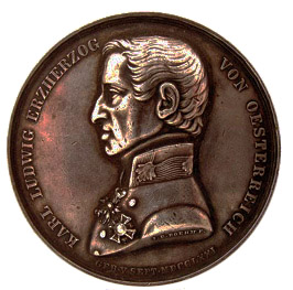 Military Maria Theresia Order Archduke Karl Bronze Jubilee Medal, obverse, Picture from the authors photo archive