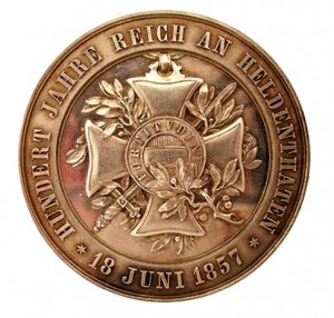 Figure 6: Military Maria Theresia Order 100 Year Jubilee Medal, Reverse, Bronze, Image from the authors archive