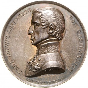 Military Maria Theresia Order Archduke Karl Silver Jubilee Medal, obverse, Picture from the authors photo archive