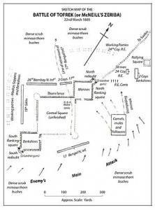 sketch map of the battle of Tofrek. Source: wikipedia