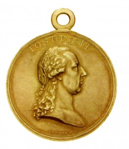 Figure 2: The 1789 Honor Medal was the first Austrian award worn on the war ribbon. Image from author's archive