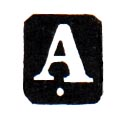 Figure 5: 1890-1921 Vienna Assay Office mark. from the author's archive.