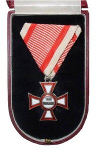 Figure 19: Military Merit Cross case, interior. Image from the author's archive.
