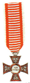 Figure 20: Jeweled Military Merit Cross miniature. Image from the author's archive.