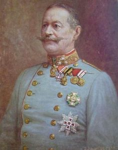 Figure 13: Feldmarschall Alexander Freiherr von Krobatin wearing the Military Merit Cross First Class with war decoration Image from the author's archive.