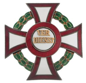 Figure 3: Military Merit Cross first class with war decoration first class. Image courtesy of Dorotheum.