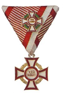Figure 9: Military Merit Cross first class with war decoration first class. Image from the author's archive