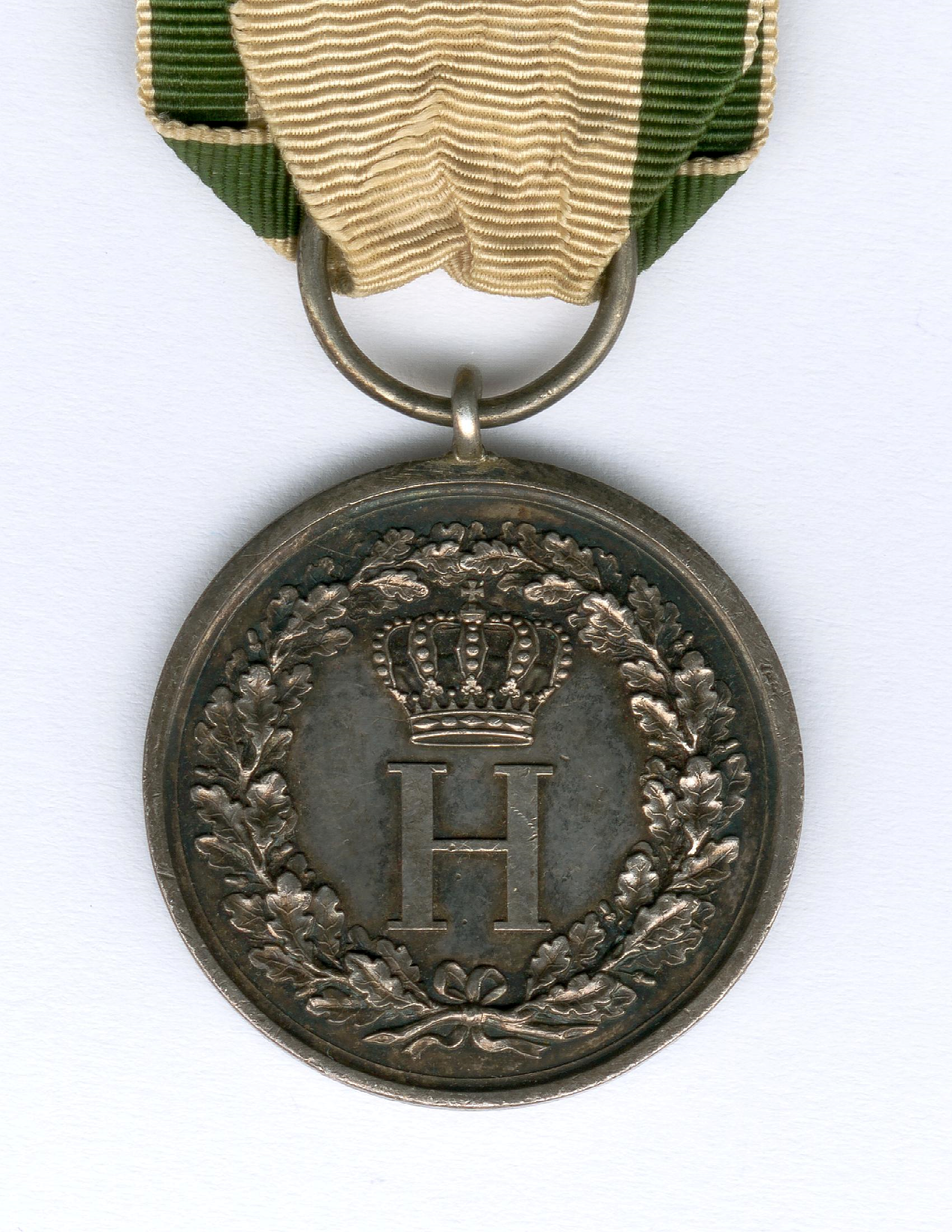 Figure 2-Detail of the obverse of an example of an awarded Silver Medal. Image courtesy of Sascha Wöschler, Karlsruhe.