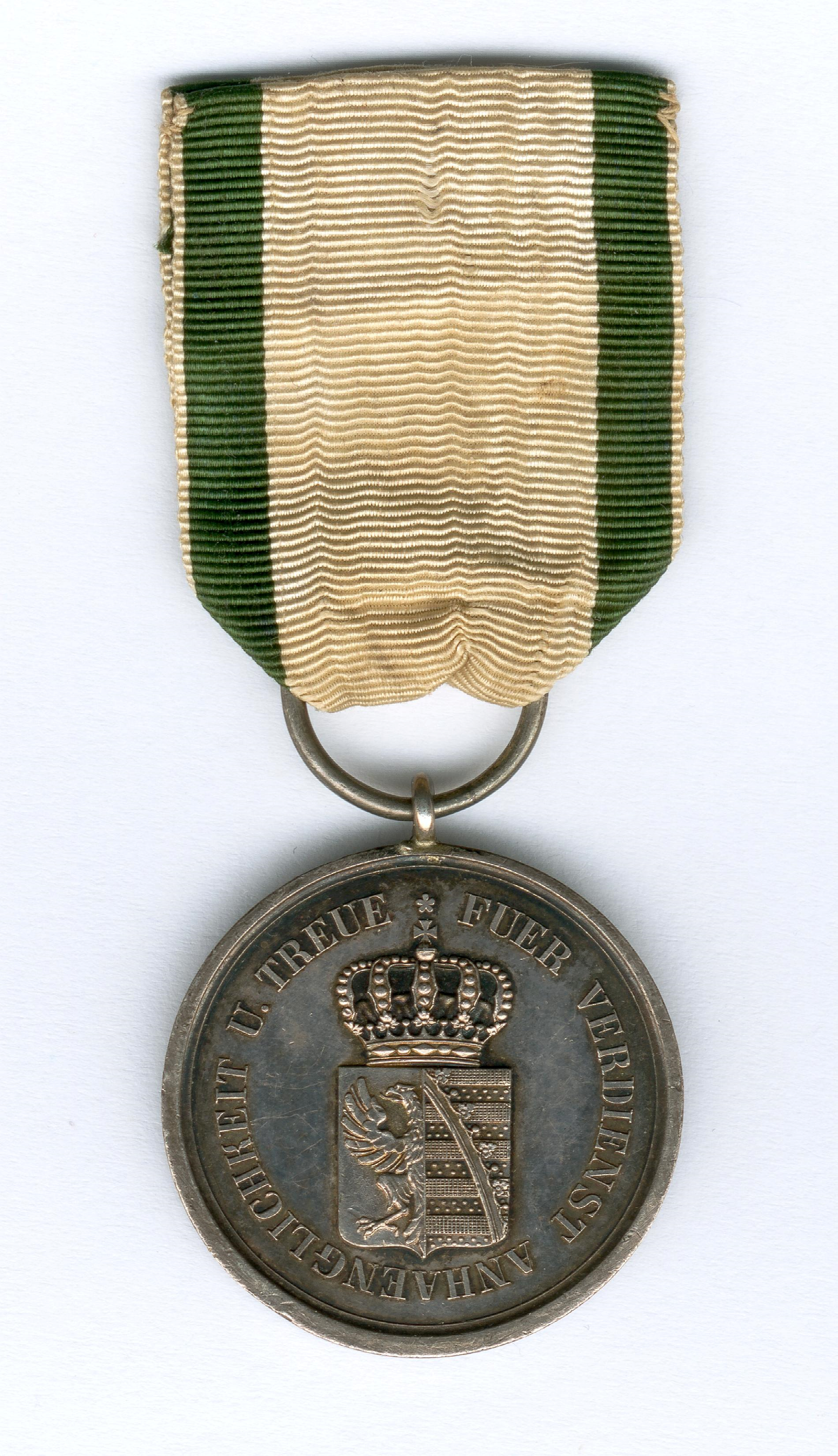 Figure 3-Reverse of an example of an awarded Silver Medal. Image courtesy of Sascha Wöschler, Karlsruhe.