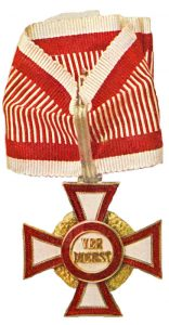 Figure 7: Military Merit Cross, second class with third class war decoration. Image from the author's archive.
