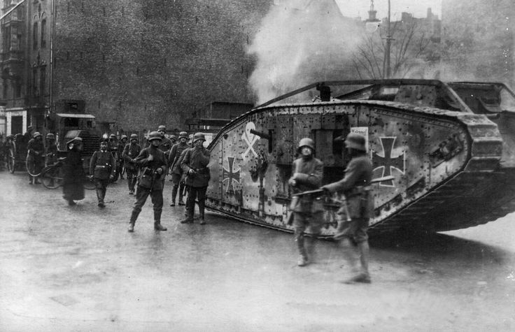 captured British tank by the German Army