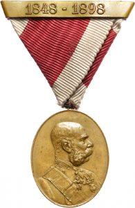 Figure 1: Bronze Court Jubilee Medal: Image courtesy of Dorotheum