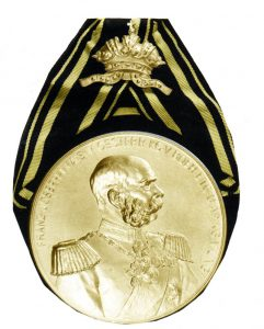 Figure 4: Royal Prussian Guard Grenadier Regiment No.2 Flag Medal. Image from author's archive.