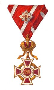 Figure 6: Order of Leopold, first class kleine badge. Image from author's archive.