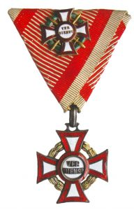Figure 9: Military Merit Cross, first class with war decoration and swords kleine. Image form the author's archive.