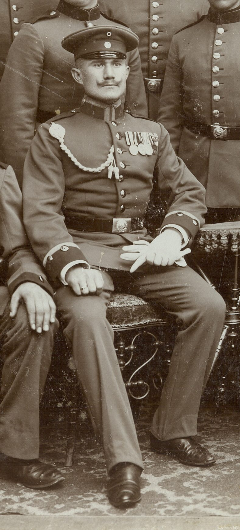 Figure 2: Detail featuring Non-Commissioned Officer