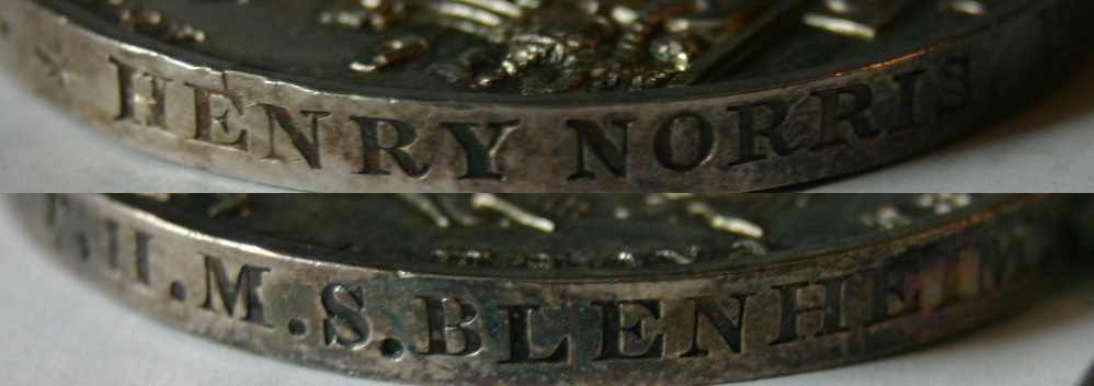 China 1842 - Henry Norris HMS Bleheim