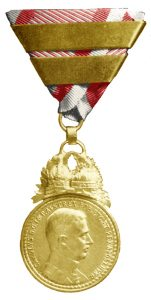 Figure 10: Karl Great Military Merit Medal, with third award bar. Image from the Author's archive.