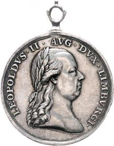 Figure 3: Silver Limburg Volunteers Medal, obverse. Image from Pinterest.