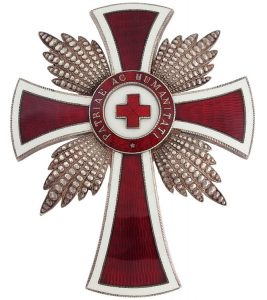 Figure 2: Red Cross Merit Star. Image from the author's archive.