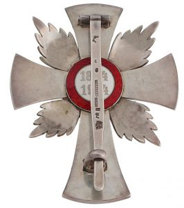 Figure 3: Red Cross Merit Star, reverse. Image from the author's archive.