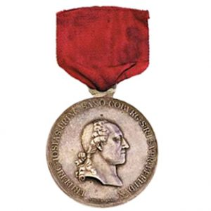 Figure 1: Neerwinden Medal, obverse. Image from author's archive.