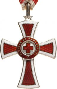 Figure 2: Red Cross Decoration, second class, Image courtesy of Dorotheum
