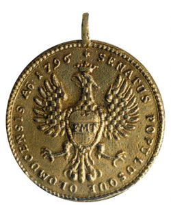 Figure 2: Olmutz Military Medal reverse. Image from the author's archive