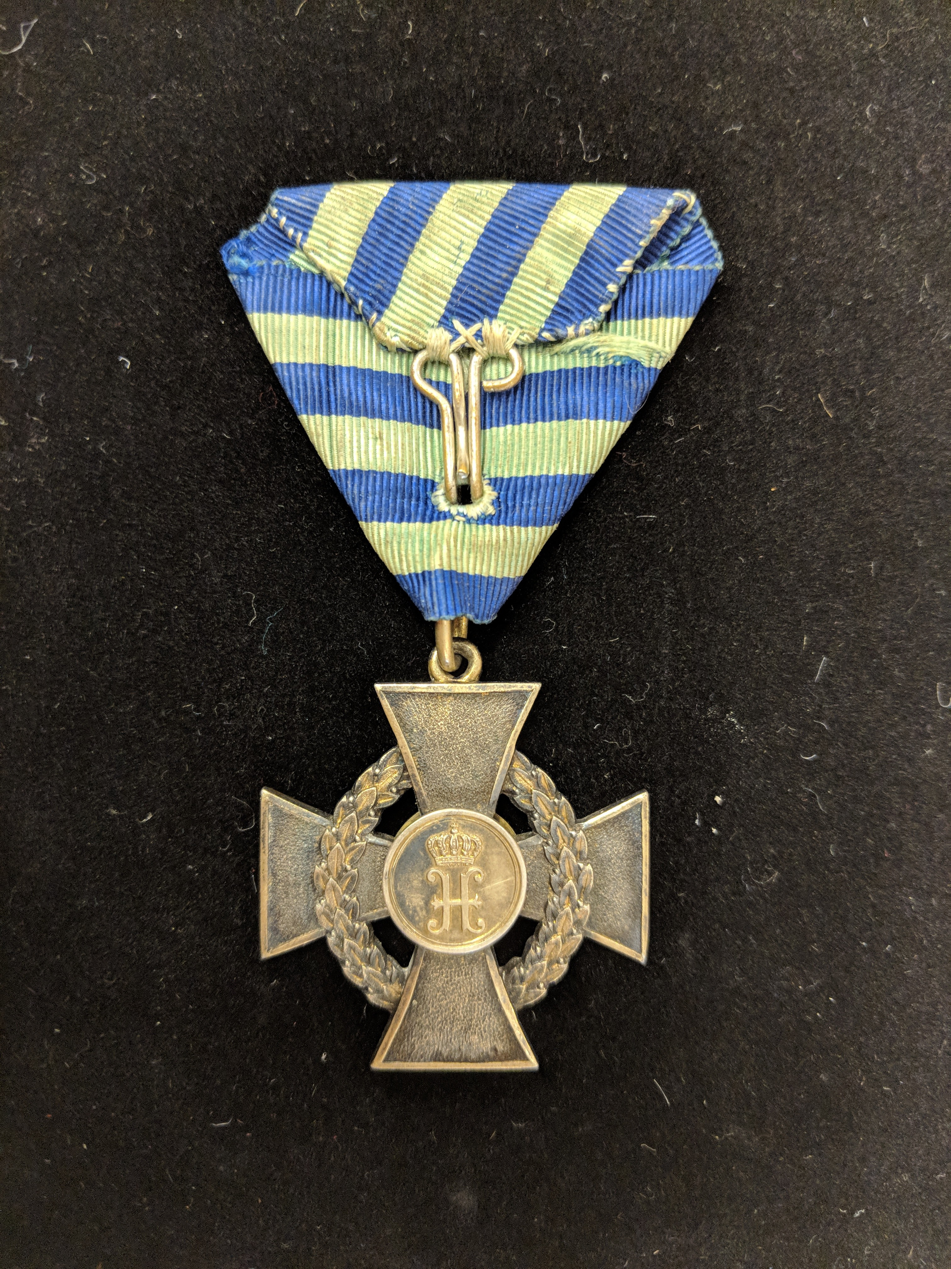 Reuss - Medal for Arts and Science 1st class reverse
