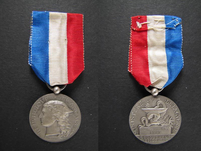 médaille mutualité française