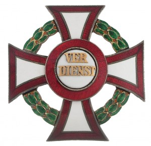 Military Merit Cross First Class with war decoration first class (September 23, 1914-1918) (Picture courtesy of Dorotheum