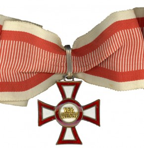 Military Merit Cross Second Class (September 23, 1914-1918)( Issued only once)