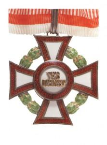 Military Merit Cross Second Class with war decoration second class (September 23, 1914-1918)