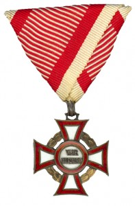 Military Merit Cross third Class with war decoration (Authorized March 12, 1860-1918)