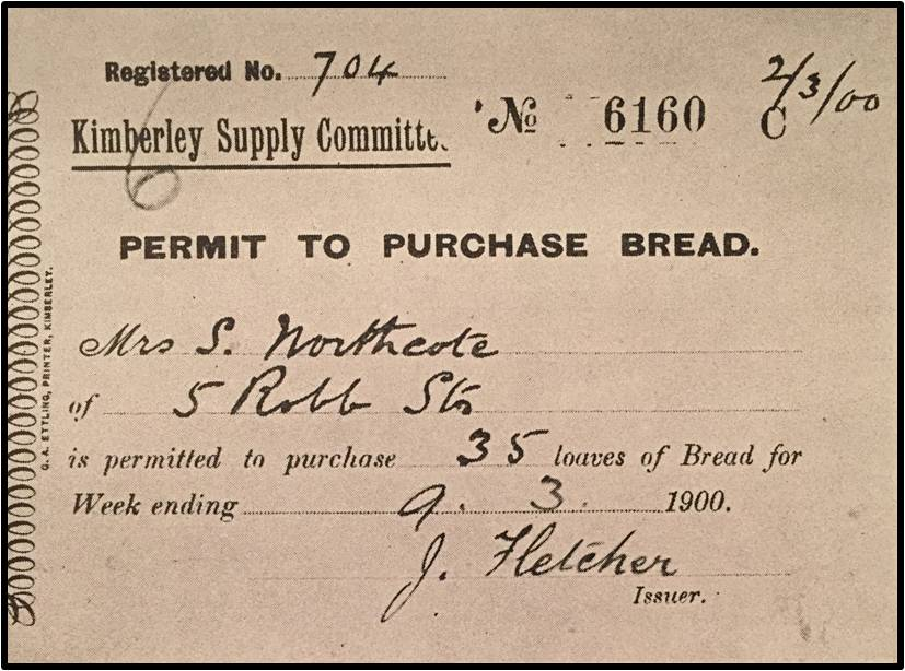 Ration Coupon 2