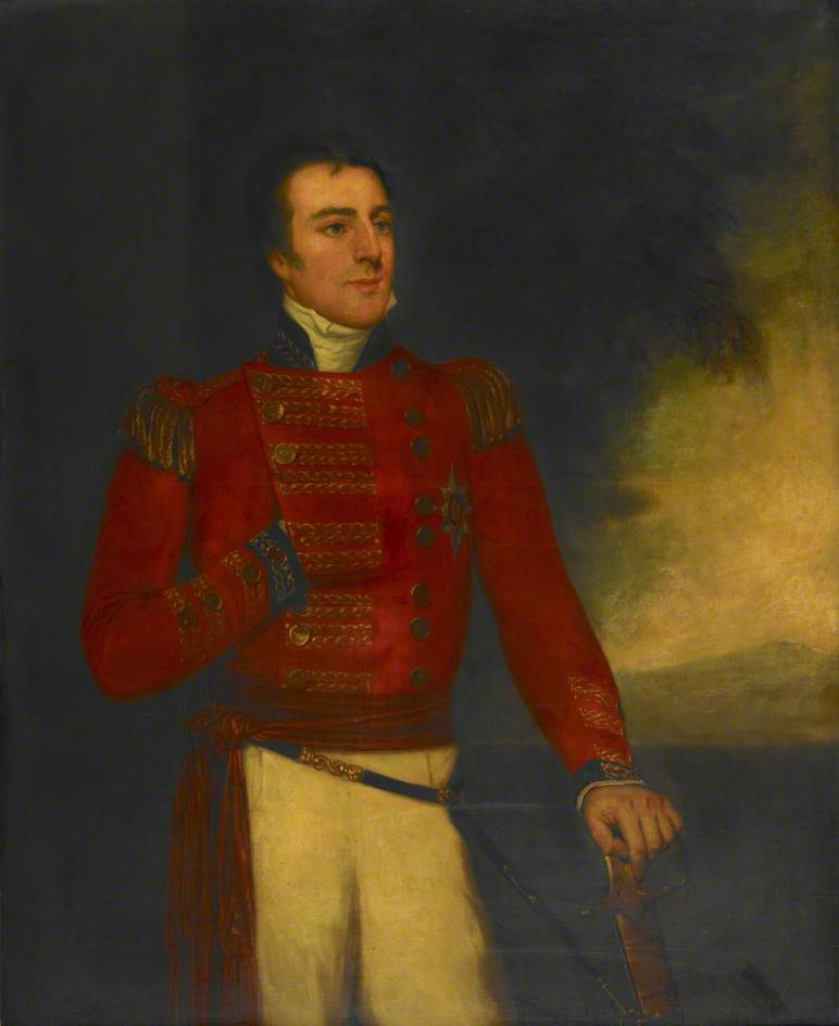 Figure 3 - Sir Arthur Wellesley. (c) British Library; Supplied by The Public Catalogue Foundation