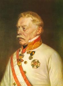 Figure 1: Feldmarschall Josef Graf Radetzky von Radetz. From author's archive